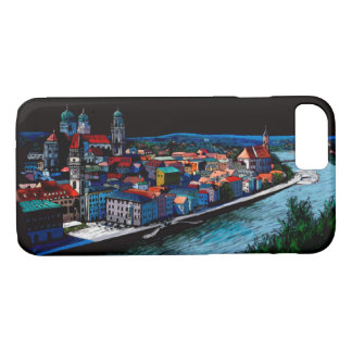bavaria Passau Germany skyline architecture iPhone 8/7 Case