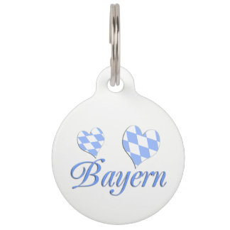 Bavaria Pet Tag