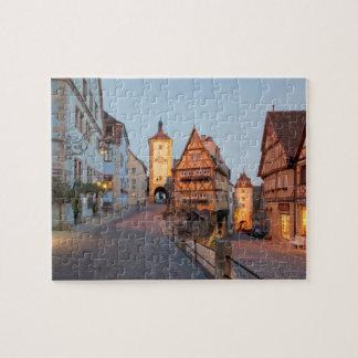 Bavaria, Rothenburg ob der Tauber Jigsaw Puzzle