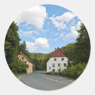 Bavaria Round Sticker