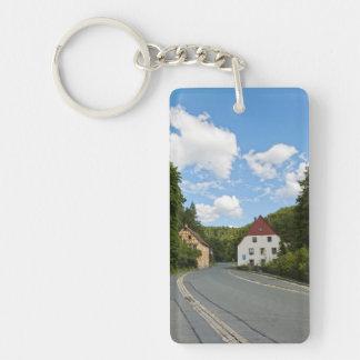 Bavaria Single-Sided Rectangular Acrylic Key Ring