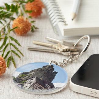 Bavaria Single-Sided Round Acrylic Key Ring