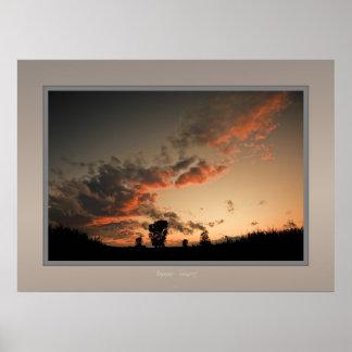 bavaria sunset print