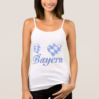 Bavaria with hearts tank top