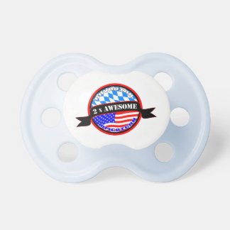 Bavarian American 2x Awesome Pacifier