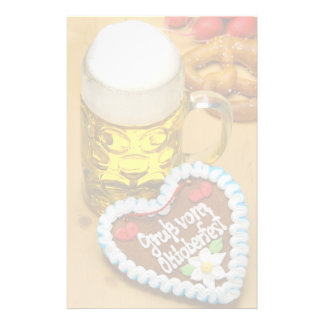 Bavarian beer 2 stationery