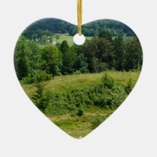 Bavarian Countryside Christmas Ornament