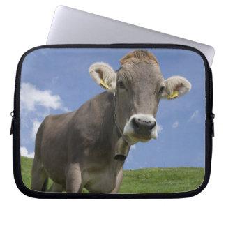 bavarian cow laptop sleeve