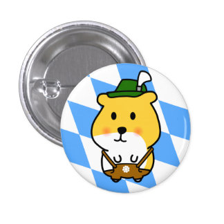 Bavarian Hamster 3 Cm Round Badge