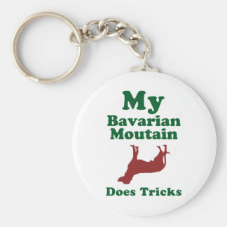 Bavarian Mountain Hound Key Ring