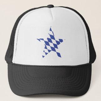 bavarian star icon trucker hat