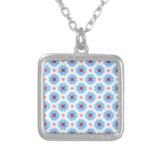 Bavarian subtly silver plated necklace