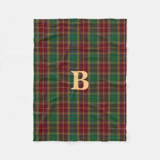 Baxter Clan Tartan Plaid Fleece Blanket