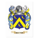 Baxter Coat of Arms (Family Crest) Postcard