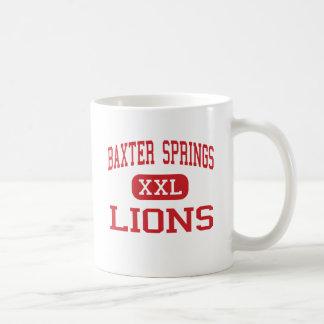 Baxter Springs - Lions - Middle - Baxter Springs Coffee Mug