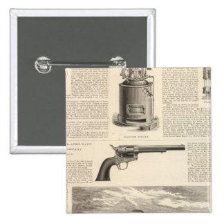 Baxter Steam Engine Company 15 Cm Square Badge