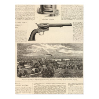 Baxter Steam Engine Company Postcard