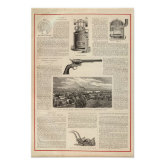 Baxter Steam Engine Company Poster
