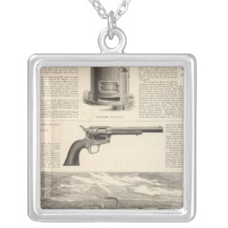 Baxter Steam Engine Company Silver Plated Necklace