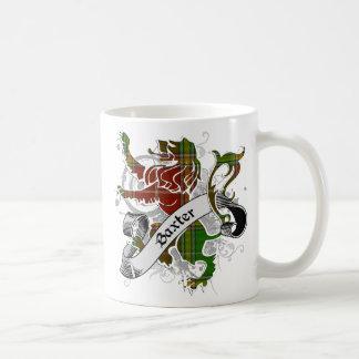 Baxter Tartan Lion Coffee Mug
