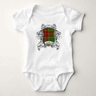 Baxter Tartan Shield Baby Bodysuit