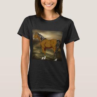 Bay Arabian Horse Print T-Shirt