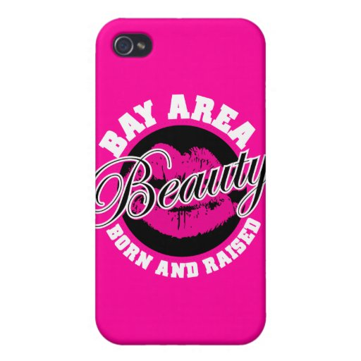 Bay Area Beauty - Pink Case For iPhone 4