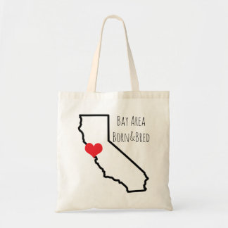 Bay Area Born&Bred Tote Budget Tote Bag