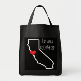 Bay Area Born&Bred Tote Grocery Tote Bag