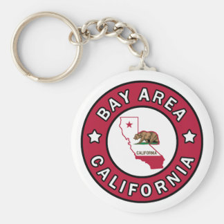 Bay Area California keychain