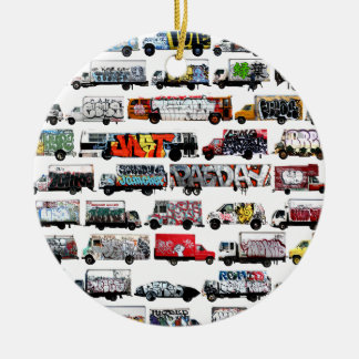 Bay Area Graffiti Trucks Christmas Ornament