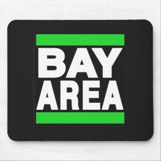 Bay Area Green Mouse Pad
