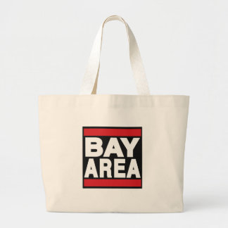 Bay Area Red Jumbo Tote Bag