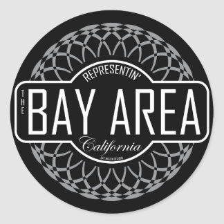 Bay Area Round Sticker