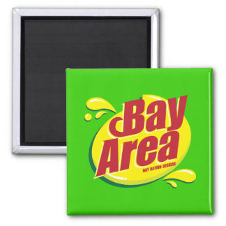 Bay Area SD Refrigerator Magnet