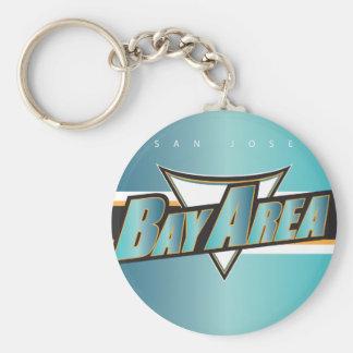 Bay Area SJ Keychain