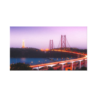 Bay at Night Canvas Print