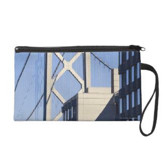 Bay Bridge and Buildings, San Francisco Wristlet Purse