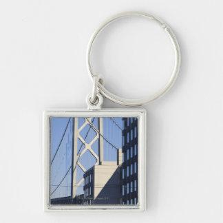 Bay Bridge and Buildings, San Francisco Key Chains