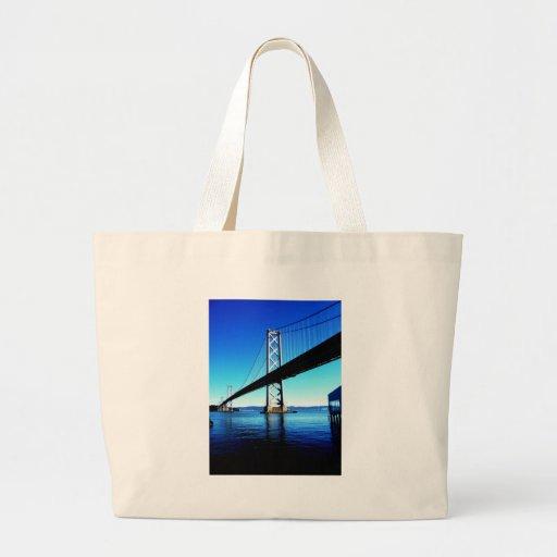 Bay Bridge Northern California San Francisco Tote Bag