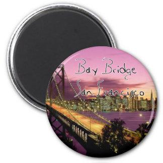 Bay Bridge San Francisco California Refrigerator Magnet