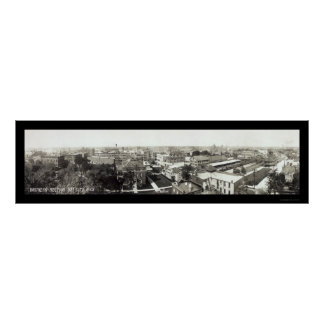 Bay City MI Business Photo 1912 Poster