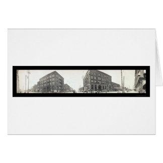 Bay City, MI Photo 1912 Card
