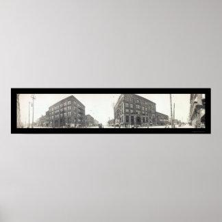 Bay City, MI Photo 1912 Poster