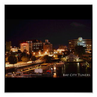 BAY CITY TUNERS POSTER