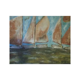 Bay Day Canvas Print