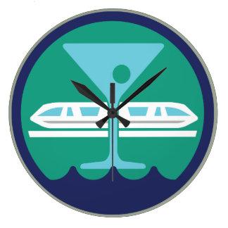 """Bay Lake Society 10"""" Clock"""