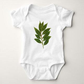 Bay leaf baby bodysuit