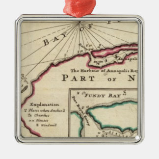 Bay of Fundy and harbour of Annapolis Royal Christmas Ornament