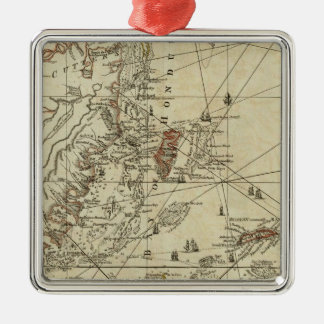 Bay of Honduras Christmas Ornament